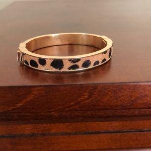 Slim animal print bracelet